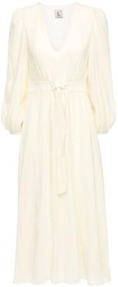 L'Autre Chose Crepe De Chine Loungette Dress