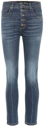 Veronica Beard Debbie high-rise skinny jeans