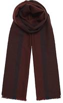 Jigsaw Verti Wool Stripe Scarf