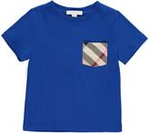 Burberry Tartan Pocket Detail T-Shirt