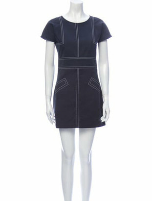 Chanel Vintage Mini Dress Blue