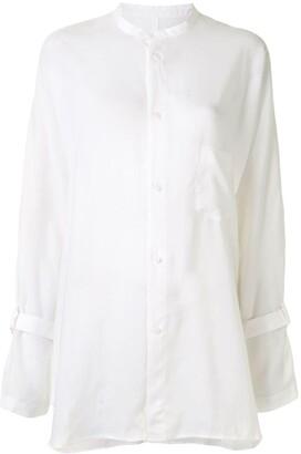 Yohji Yamamoto Panelled Longsleeve Shirt
