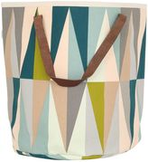 ferm LIVING Spear Hand-Printed Laundry Basket