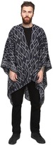 Scotch & Soda Poncho Scarf with All-Over Woven Pattern