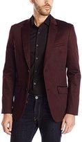 Perry Ellis Men's Solid Sateen Jacket
