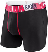 Saxx Mens Vibe Modern Fit World Flag Lifestyle Boxers Underwear