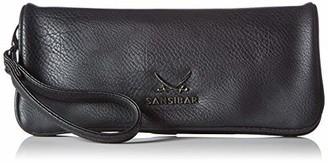 Sansibar B-925 SA 01 Women's Clutch 28 x 13 x 2 cm Black Size: 28x13x2