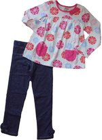 Gymboree Girls Snowflake Long Sleeve Top & Jeggings Set