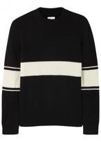 Gant Rugger Striped Wool Blend Jumper