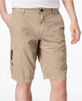 Buffalo David Bitton Men's Herculean Flat-Front Shorts