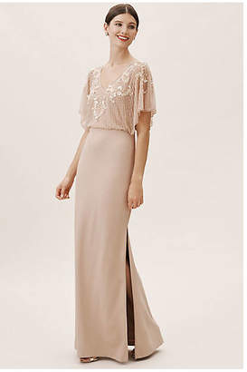 Aidan Mattox Broadway Wedding Guest Dress