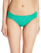 LaBlanca La Blanca Women's Island Goddess Shirred Side Hipster Bikini Bottom