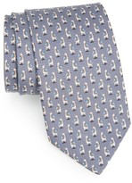Salvatore Ferragamo Men's Giraffe Silk Tie