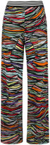 Missoni knitted wide-leg trousers - women - Silk/Cotton/Spandex/Elastane/Rayon - 42