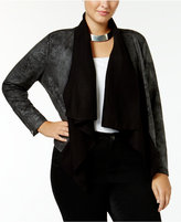 Jessica Simpson Trendy Plus Size Cameron Faux-Shearling Jacket