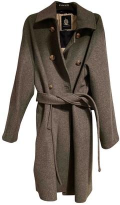Marina Yachting Grey Wool Coat for Women