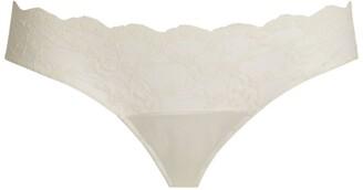 Katherine Hamilton Sophia Lace Bikini Briefs