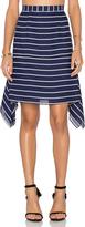 Shona Joy Isabelle Handkerchief Mini Skirt