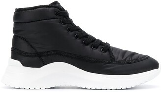 Calvin Klein Jeans Ankle Lace-Up Sneakers