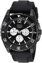ESQ Men's Multifunction IP Watch w/ Silicone Strap FE/ 0244