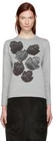 Comme des Garcons Grey Flower T-shirt