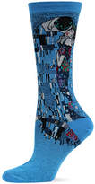 Hot Sox Washed Blue The Kiss Trouser Socks