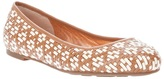 Marc By Marc Jacobs woven ballet pump