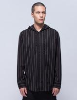 Publish Avery Pin Stripe Hooded Shirt