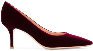 Gianvito Rossi 70 Velvet Pumps