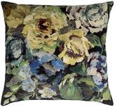 Designers Guild Bloomsbury Rose Cushion Indigo