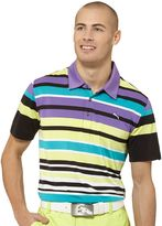Puma Roadmap Stripe Golf Polo Shirt