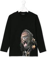 Marcelo Burlon County Of Milan Kids gorilla print top