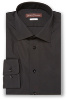 Hickey Freeman Solid Classic Fit Cotton Dress Shirt