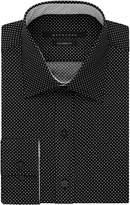 Sean John Men's Tailored Fit Polka Dot