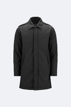 Rains Black 1512 Mac Coat - black | M/L - Black/Black