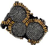 Vera Wang Crystal Beaded Elastic Bracelet