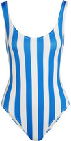 Solid and Striped - The Anne-marie Striped Swimsuit - Azure