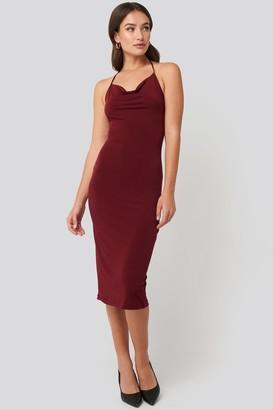 Trendyol Back Slit Midi Dress