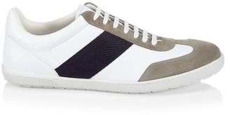 Giorgio Armani Suede Patchwork Sneakers