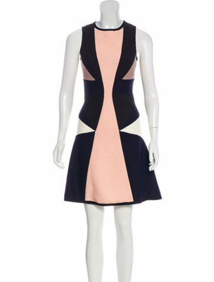 Jonathan Simkhai Colorblock Swing Dress w/ Tags Pink