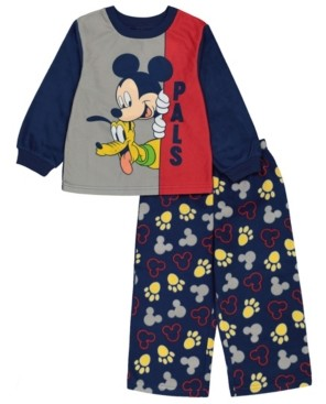 AME Mickey Mouse Toddler Boy 2 Piece Pajama Set