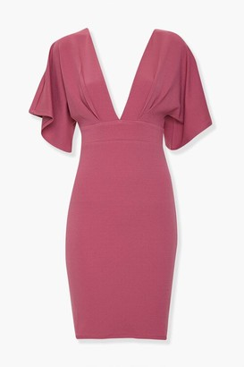 Forever 21 Plunging Bodycon Dress