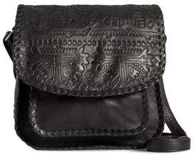 Day & Mood Ebba Embossed Leather Crossbody Bag