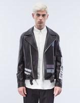 General Idea Leather Biker Jacket