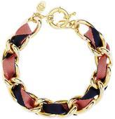Brooks Brothers Ribbon Chain Bracelet