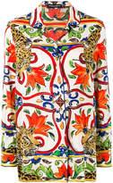 Dolce & Gabbana tile print shirt