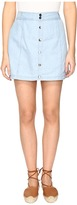 BB Dakota Starks Button Front Skirt