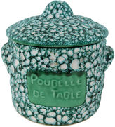 One Kings Lane Vintage French Table Scrap Canister