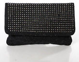 Deux Lux Dark Gray Rain Drop Clutch Handbag $105 New