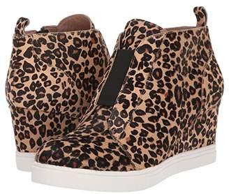Linea Paolo Felicia 3 (Sand/Black Leopard Print Haircalf) Women's Shoes